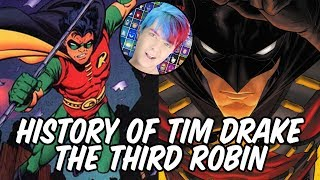 History Of Tim Drake The Third Robin
