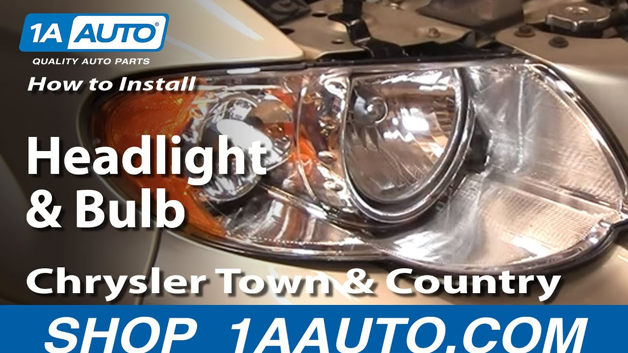 Headlight Bulb For  Chrysler Town Country Touring