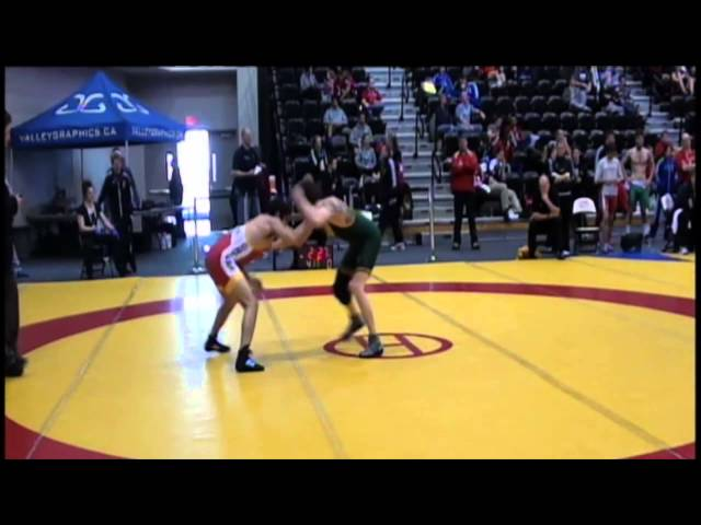 2014 CIS Championships: 54 kg Oren Furmanov vs. Connor MacLachan