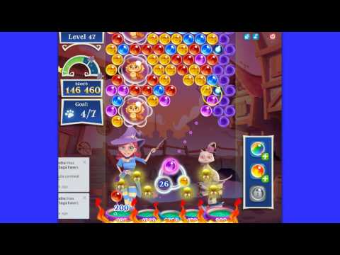 Bubble Witch Saga 2 level 47