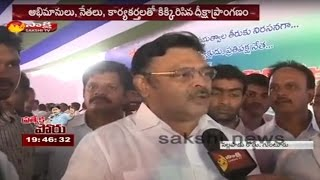 Face to face with Ambati Rambabu on AP Special Status