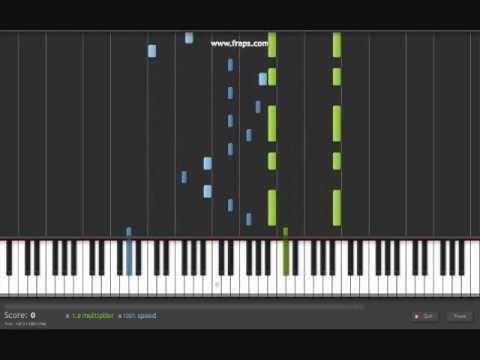 Corpse Bride : Victor's Piano Solo - Synthesia