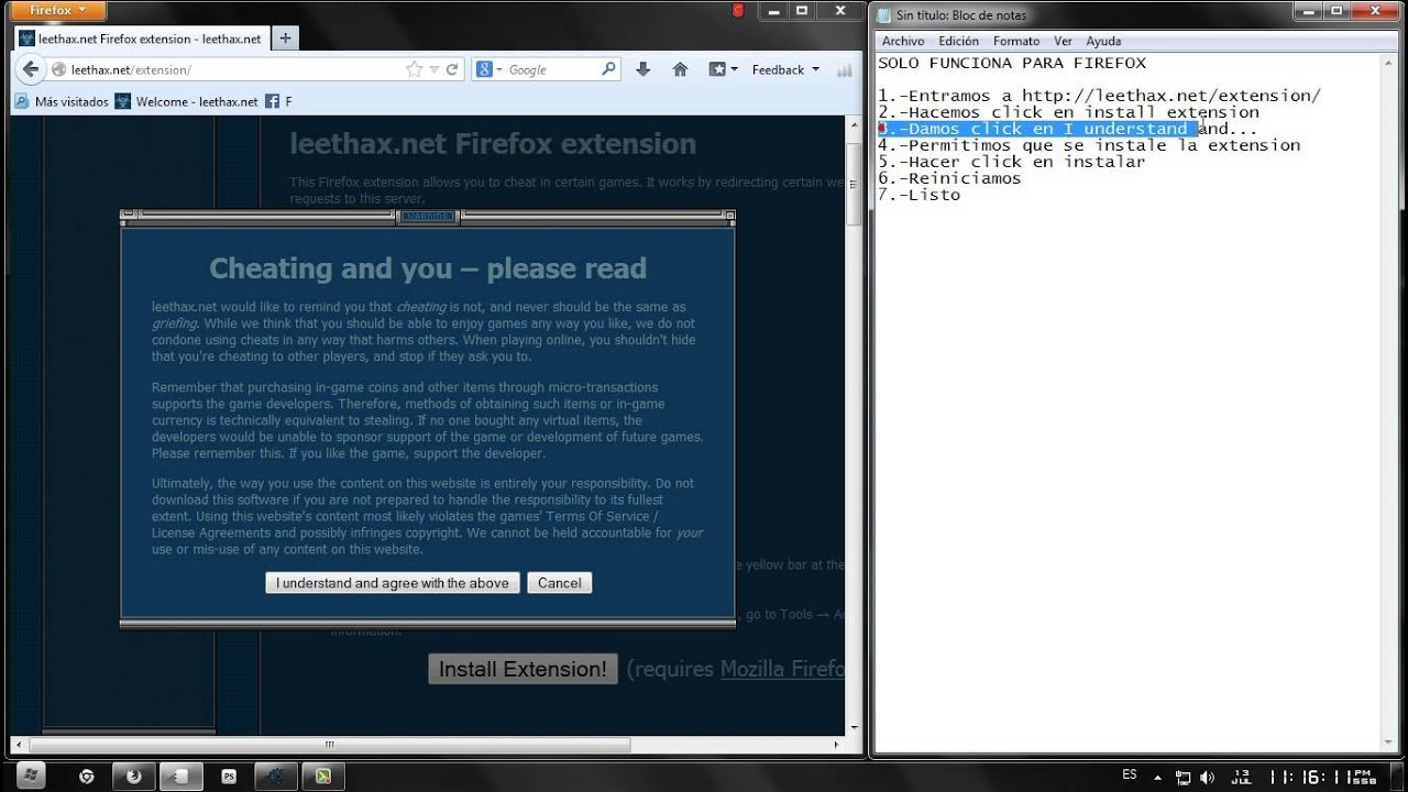 leethax extension for google chrome download