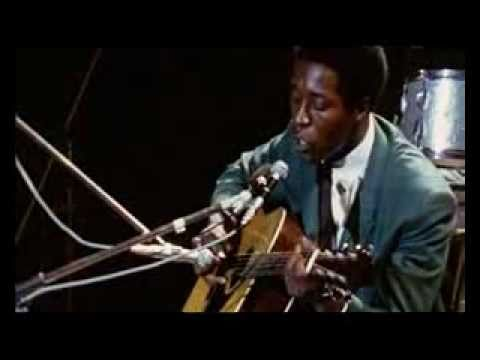 BUDDY GUY - hoochie coochie man (Acoustic 1969)
