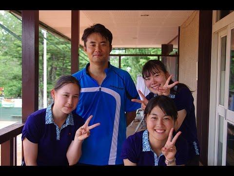 【札幌国際OP2014】杉村太蔵vs北大女子テニス部