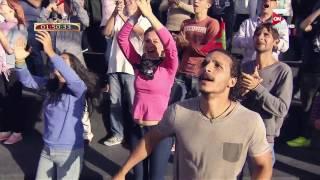 عرض رائع من طرف المغربي مهدي موساعيد في برنامج -نينجا واريور-