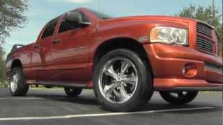 BIG ORANGE 2005 Dodge Ram 1500 Daytona