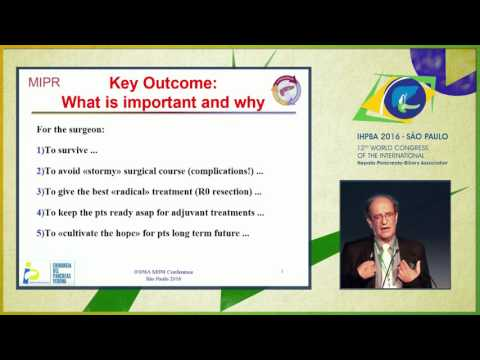 MIPR Conference: Identifying Key Outcome Metrics in pancreatic Surgery - Claudio Bassi