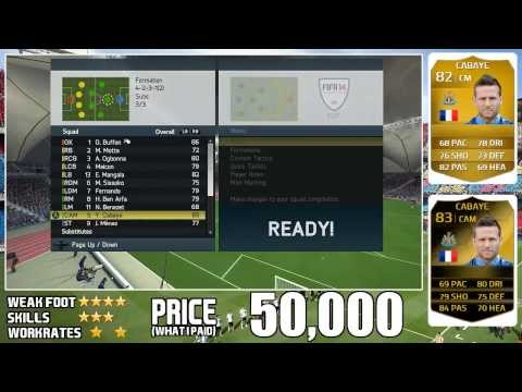 FIFA 14 - IF Yohan Cabaye (83) Player Review w/ Gameplay & In Game Stats
