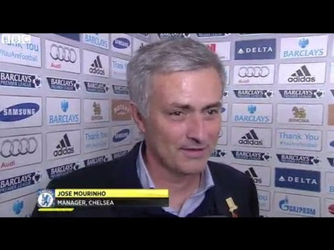 Chelsea vs Manchester City 2-1 - Jose Mourinho (27-10-13)