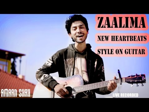 youtube video Zaalima | Raees | New Heartbeats Style On Guitar | Unplugged | Shah Rukh Khan | Cover | Amaan Shah to 3GP conversion
