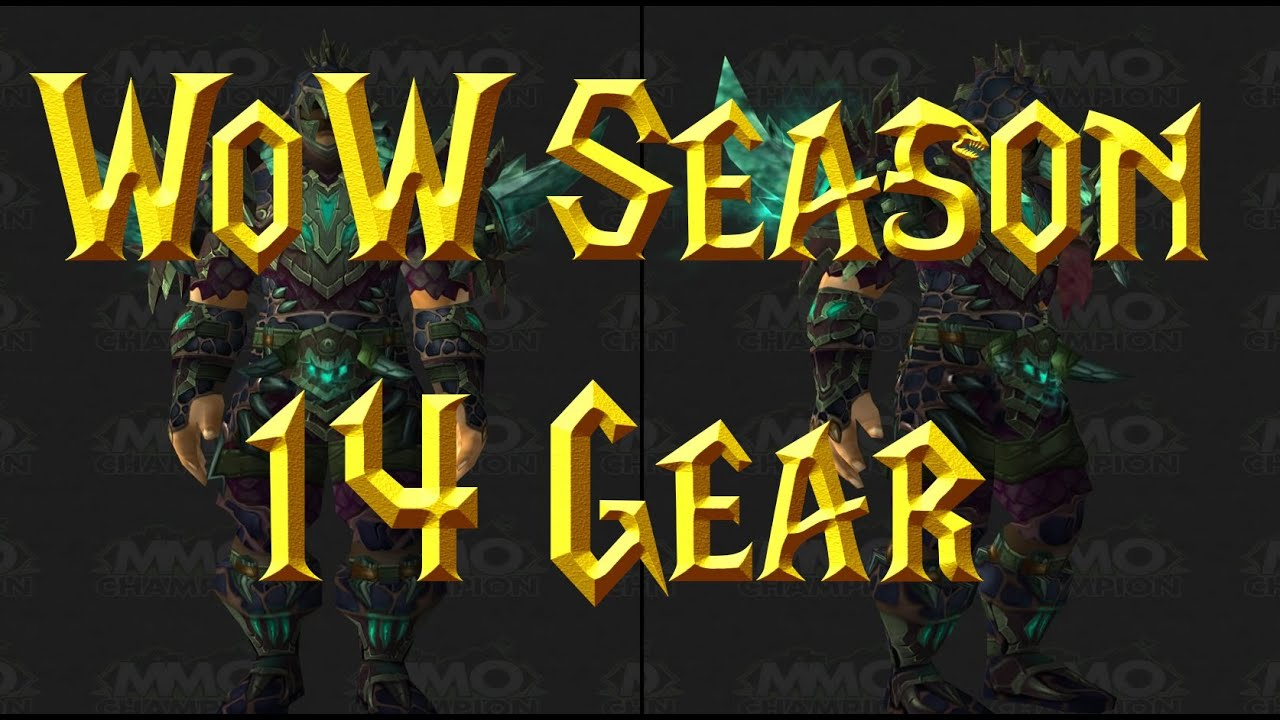 Wow patch 5 4 pvp season 14 grievous gladiator gear for Wow portent 5 4