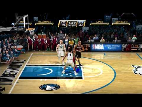 NBA Jam HD: Blazers vs Timberwolves