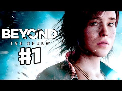 Beyond: Two Souls - Gameplay Walkthrough Part 1 - Starring Ellen Page and Willem Dafoe (PS3 Co-op)