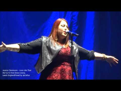 Jessica Clemmons - Love Like That - @ First Direct Arena 09 December 2013 with Boyzone