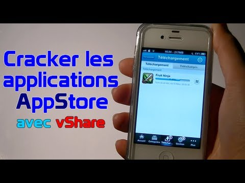 vShare - Cracker les applications de l'AppStore sans Installous ! (alternative à Installous)