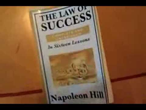The Law of Success in 16 Lessons with Napoleon Hill and the power of reading
