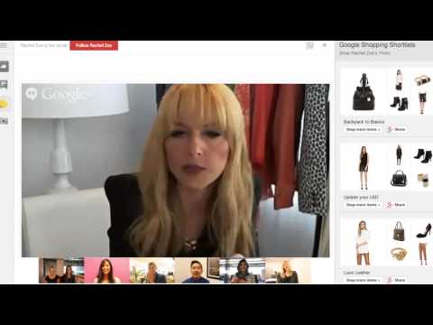Shop the Hangout with Rachel Zoe