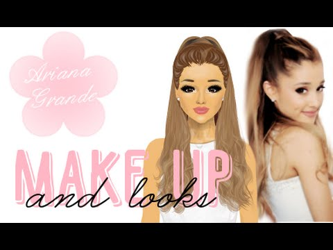 Stardoll Transformation - Ariana Grande Makeup and Looks,