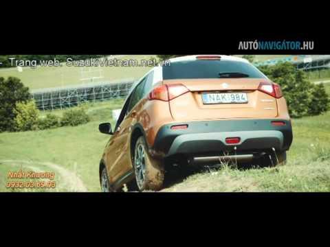 Test Suzuki Vitara 2016 4WD tại Châu Âu