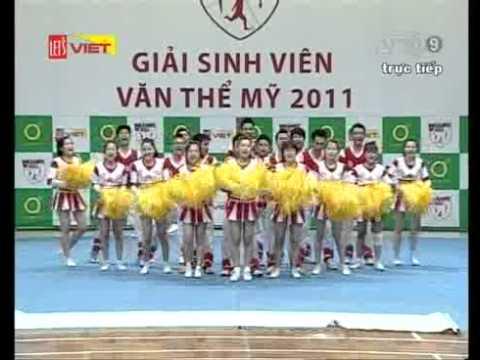 Cheer ĐH KIẾN TRÚC ĐÀ NẴNG 08/01/2012