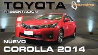 Routière Presentación Toyota Corolla 2014 Nota Gustavo