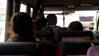 120 și 124 microbuze cu muzică și ceartă