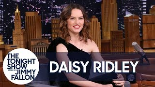 Daisy Ridley Bartended a Star Wars Wrap Party