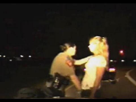 Police Search Women's Vaginas on Side of the Road (Video)