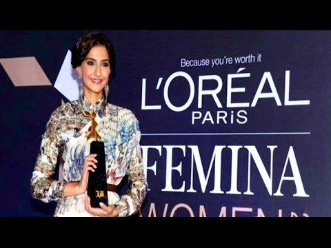Sonam Kapoor Announces 3'rd L'Oréal Paris Femina Women Awards 2014