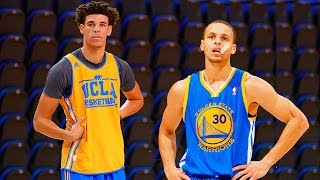 Stephen Curry VS Lonzo Ball 1 on 1