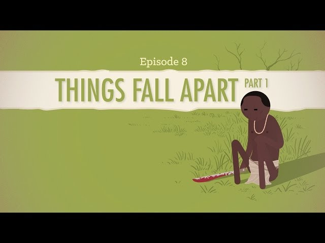 If One Finger Brought Oil - Things Fall Apart part I: Crash Course Literature 208
