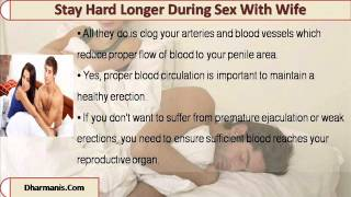 What Can I Do To Stay Hard Longer During Sex With My Wife