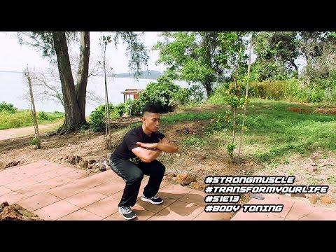 No Gym No Problem | Bakar Lemak Bina Otot | Strongman Fitness
