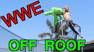 WWE MOVES OFF ROOF!