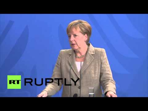 "Germany: Merkel blasts ""spying on allies,"" says it lacks ""common sense"""