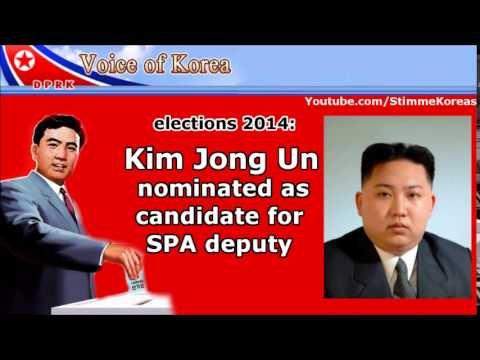 North Korean Elections 2014  Kim Jong Un candidates for 13th Surpreme People s Assembly