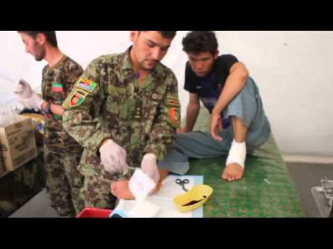 Here is Your War (In 30 Seconds) Afghan First Aid