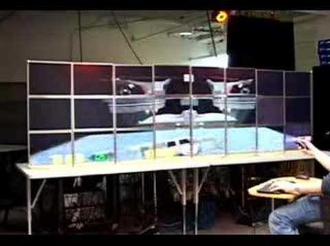 Quake III на 24 мониторах!!!!