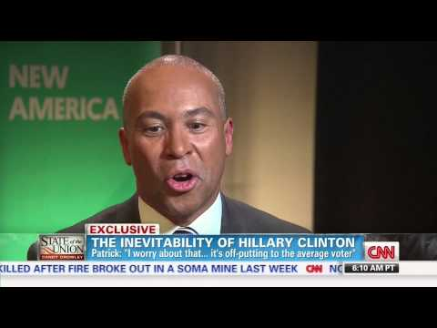 Deval Patrick Concerned With Hillary's