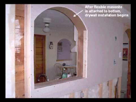 How to build interior arches revised youtube - Archway designs for interior walls ...