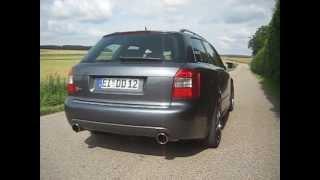 Audi S4 4,2 (B6, 8E, V8) BN-Pipes Sound.avi videos