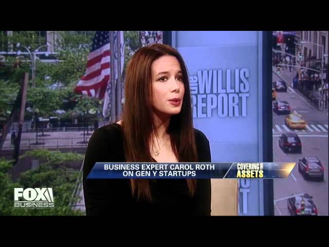 Carol Roth on Gen Y Entrepreneurs Fox Business Willis Report
