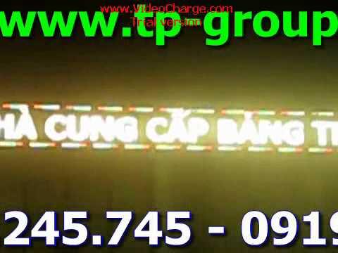 Bảng điện tử LED ma trận ba màu P16 ngoài trời - 0902.245.745