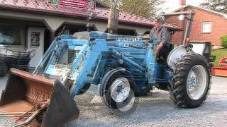 FORD 3910 Tractor 7209 Loader 2WD On EBay