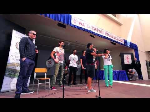 Virgin Radio Dubai takes Jessie J to Al Diyafah High School