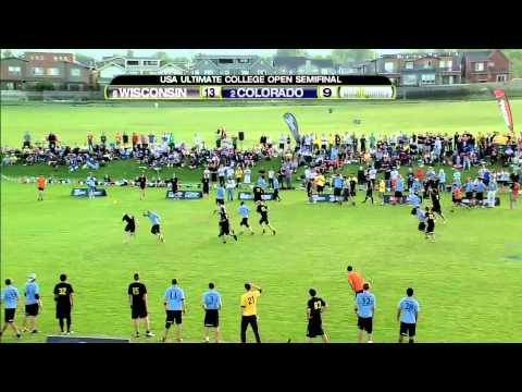 2011 USA Ultimate College Championship - Day 3 Highlights