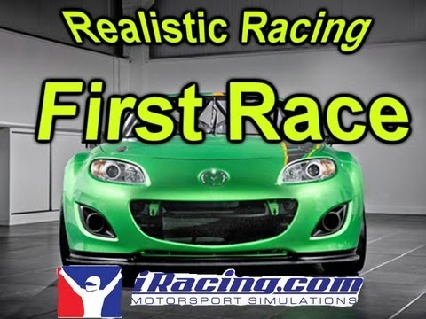 IRacing: First Race | G27 Racing Wheel
