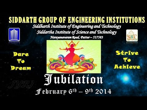 Siddartha Group of Engineering Institutions,Puttur Jubilation 2014 - [JYRJ]