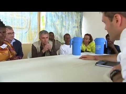 Jose Mourinho: UN World Food Programme Ivory Coast visit